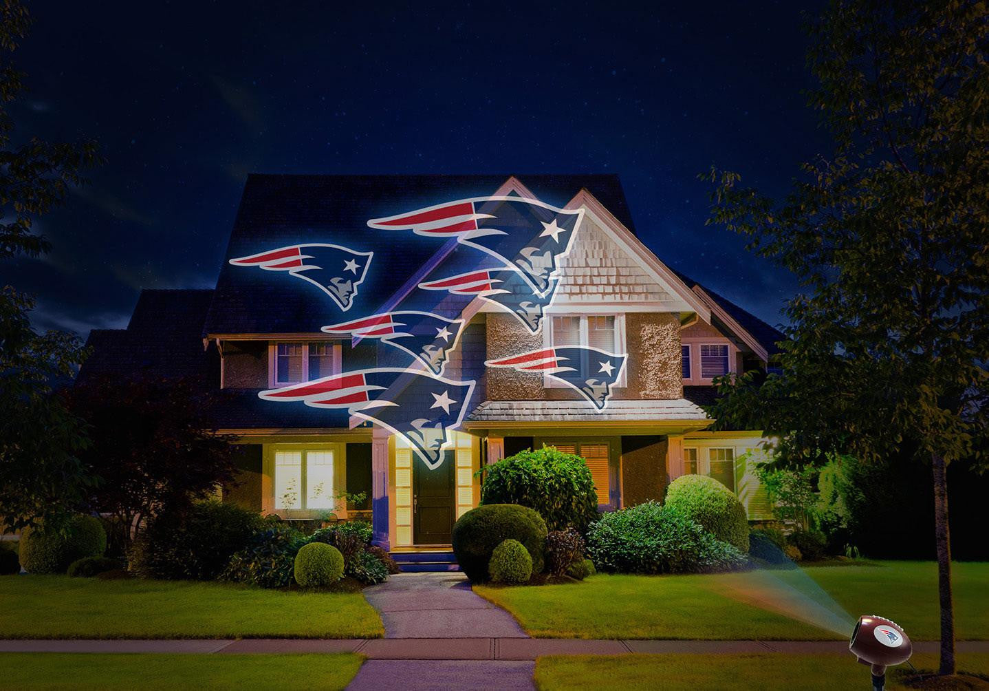 New England Patriots Team Pride Light