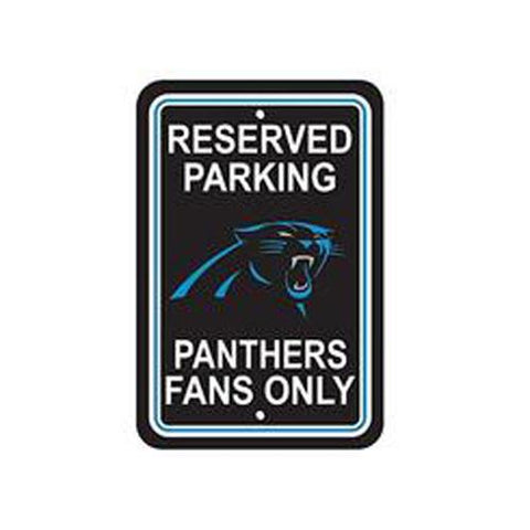 Carolina Panthers Parking Sign Reserved