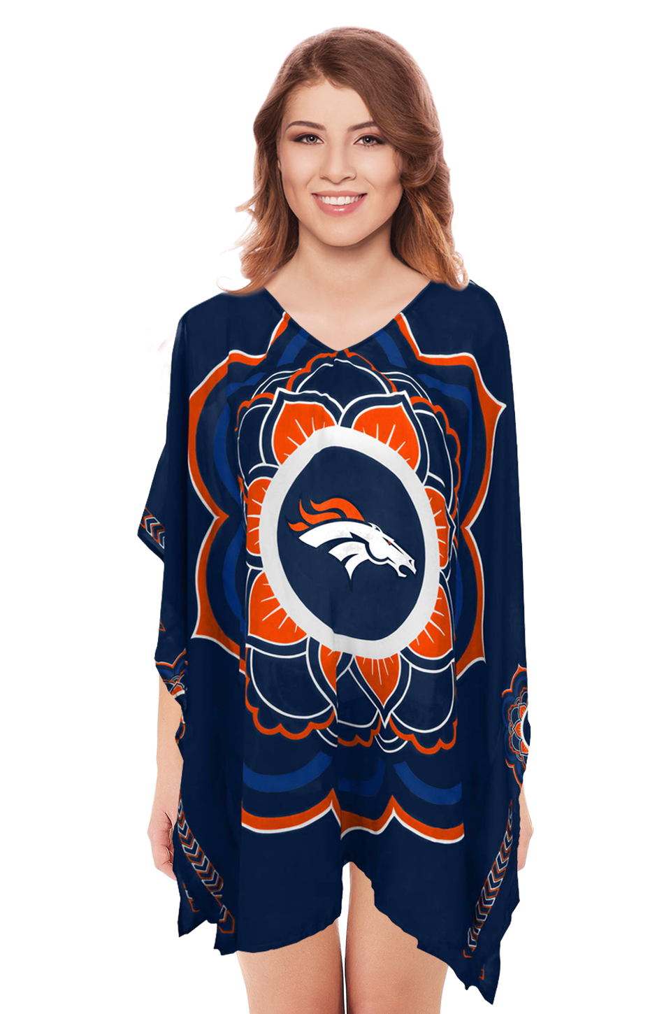 Limited Edition Officially Licensed Denver Broncos Caftan