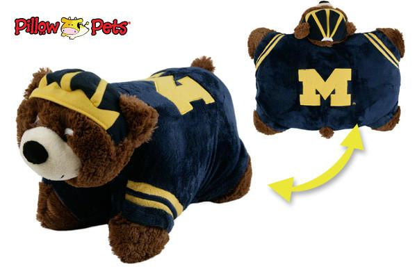 Michigan Wolverines Pillow Pet
