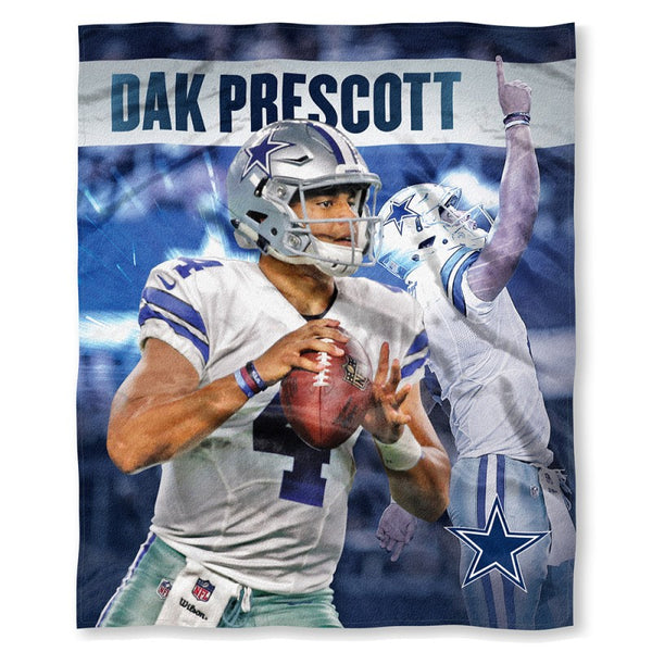 Dak Prescott - Dallas Cowboys NFLPA Players HD Silk Touch Throw