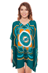 Limited Edition, Officially Licensed Miami Dolphins Caftan