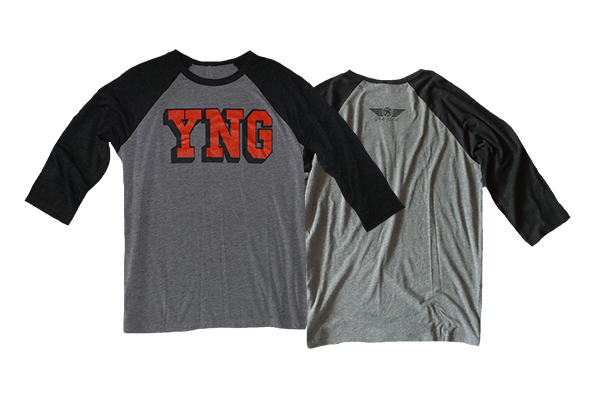 YNGguins 3/4 Sleeve