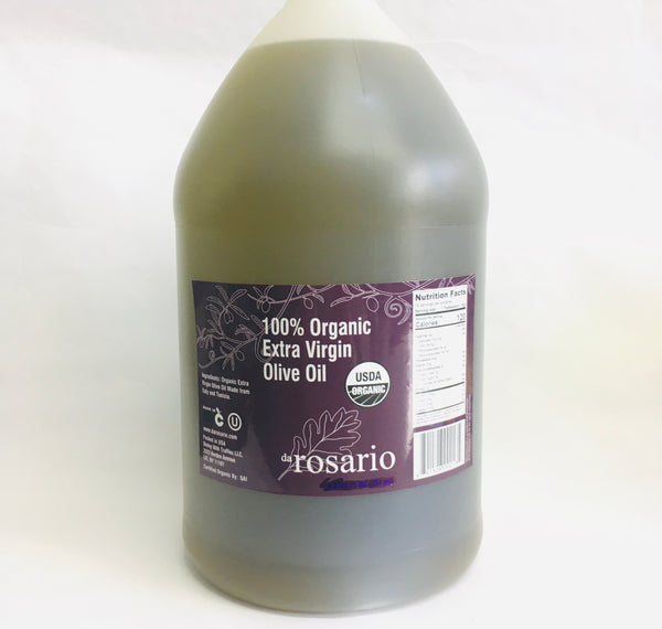 USDA Organic Extra Virgin Olive Oil 1 gallon