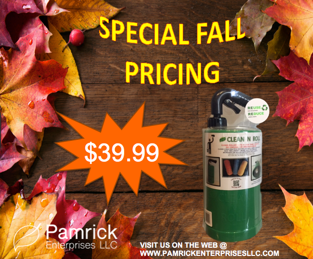 CLEAN N ROLL SPECIAL FALL PRICING