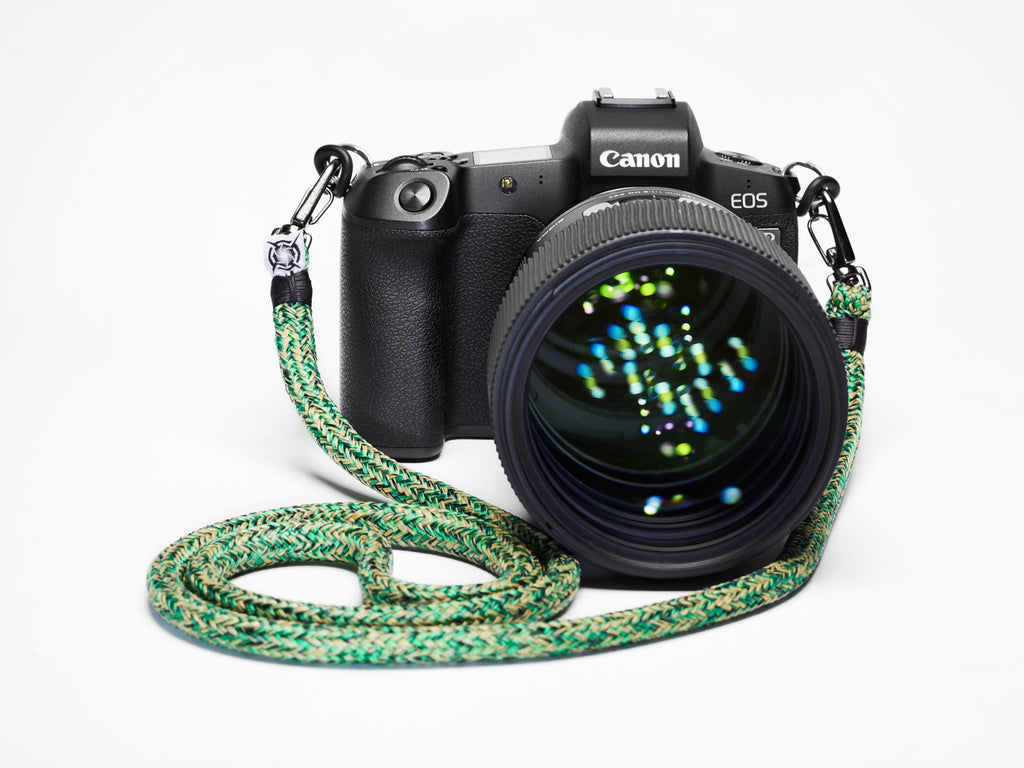 New camera strap color, Forest Flora makes landfall at Nauti Straps!