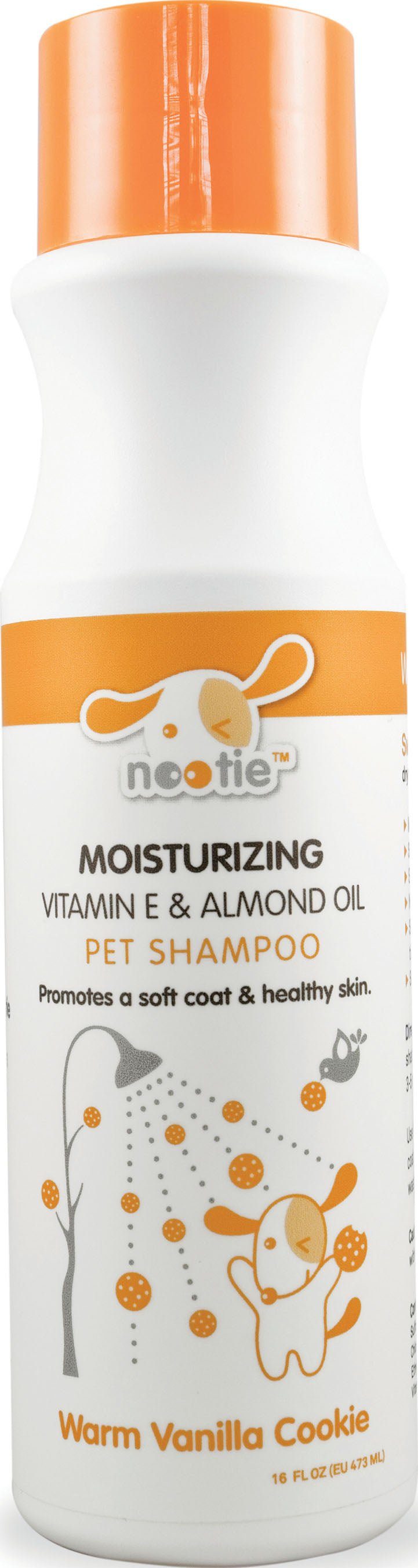 NOOTIE MOISTURIZING VITAMIN E & ALMOND OIL PET SHAMPOO