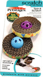 Spin & Scratch Cat Toy