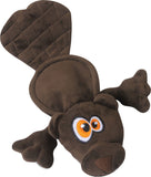 GoDog Hear Doggy Flattie Beaver Ultrasonic Dog Toy
