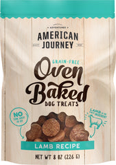 American Journey Lamb Recipe Grain-Free Oven Baked Crunchy Biscuit Dog Treats