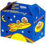 Cosmic Pet Shuttle Cardboard Cat Carrier