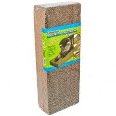 Corrugated Cat Scratch Pad Replacements 2-Pack