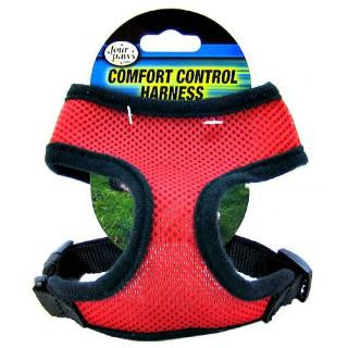 Four Paws Comfort Control Dog Harness - Red