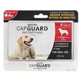 Sentry Capguard Flea Tablets For Small Dogs