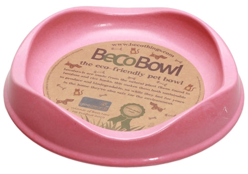 Beco Eco Friendly Cat Bowl - Pink