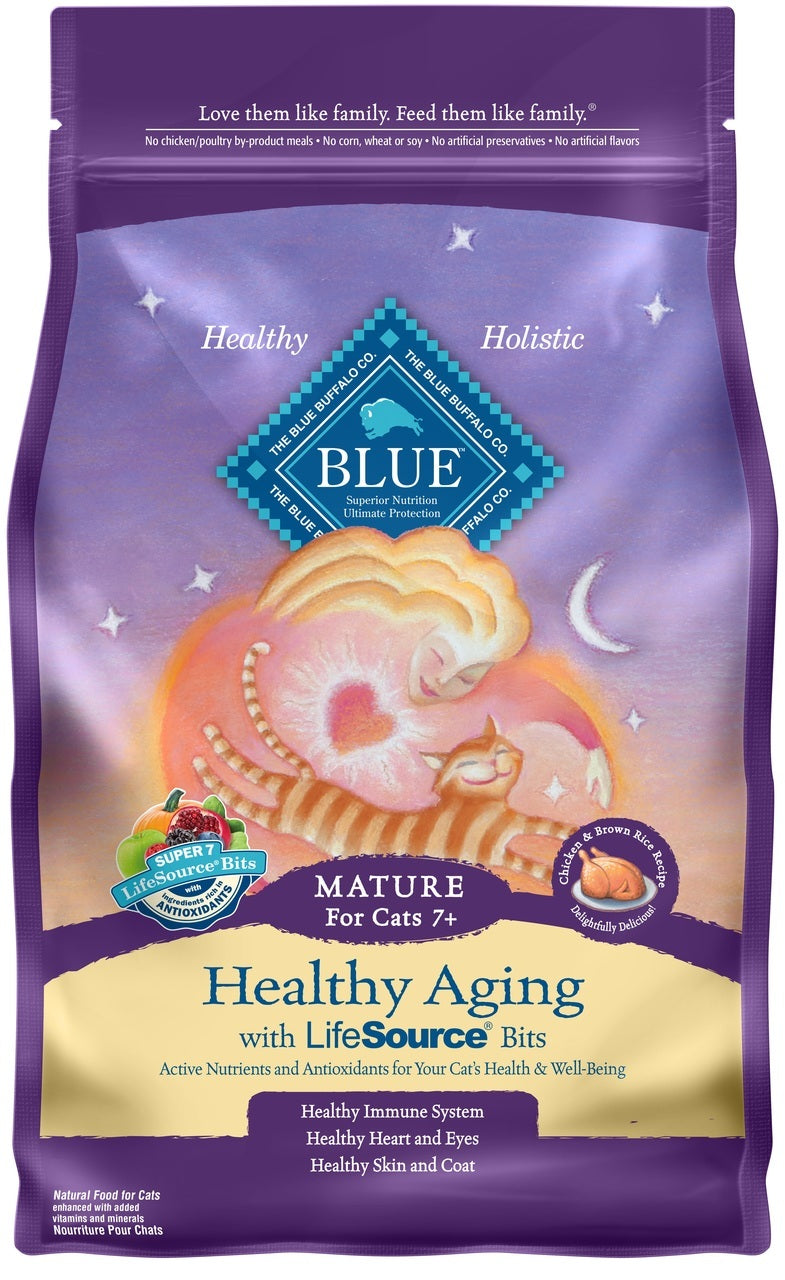 Blue Buffalo Healthy Aging Senior Cat Food