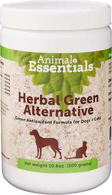Animal Essentials Herbal Green Alternative Dog & Cat Supplement, 10.6-oz jar