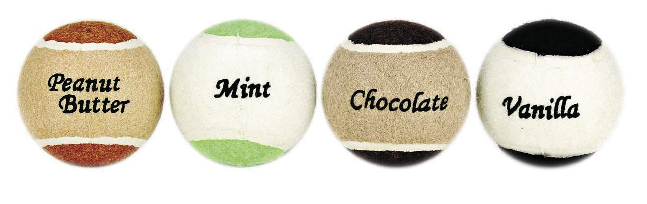 Ethical Flavored Tennis Balls For Dogs