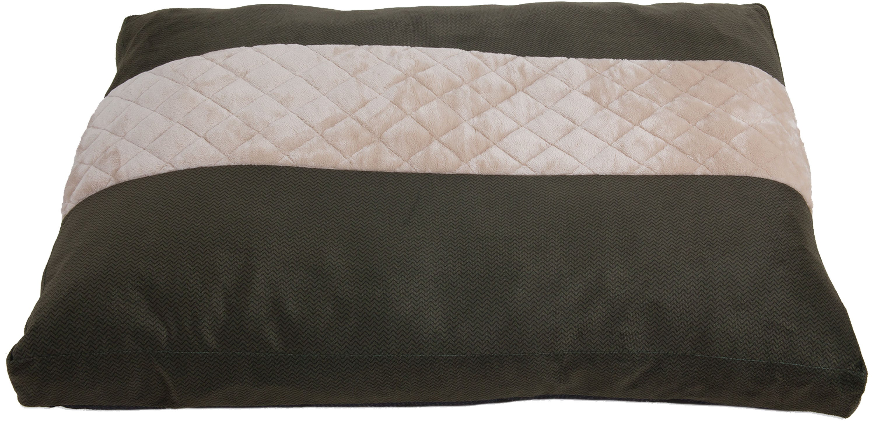 ASPEN PET QUILTED GUSSETED PILLOW BED