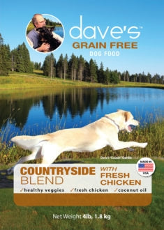 Daves Grain Free Countryside Blend Chicken Dog Food