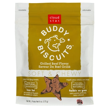 Cloud Star Original Soft & Chewy Buddy Biscuits -  Beef