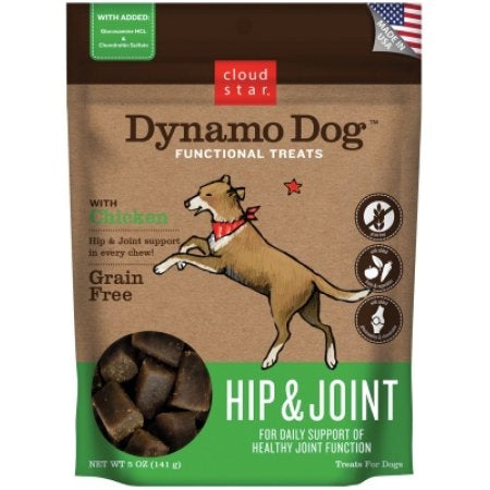 Cloud Star Dynamo Dog Hip & Joint Soft Chews - Chicken