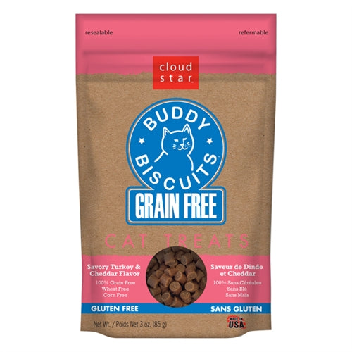Cloud Star Grain-Free Buddy Biscuits Cat Treats
