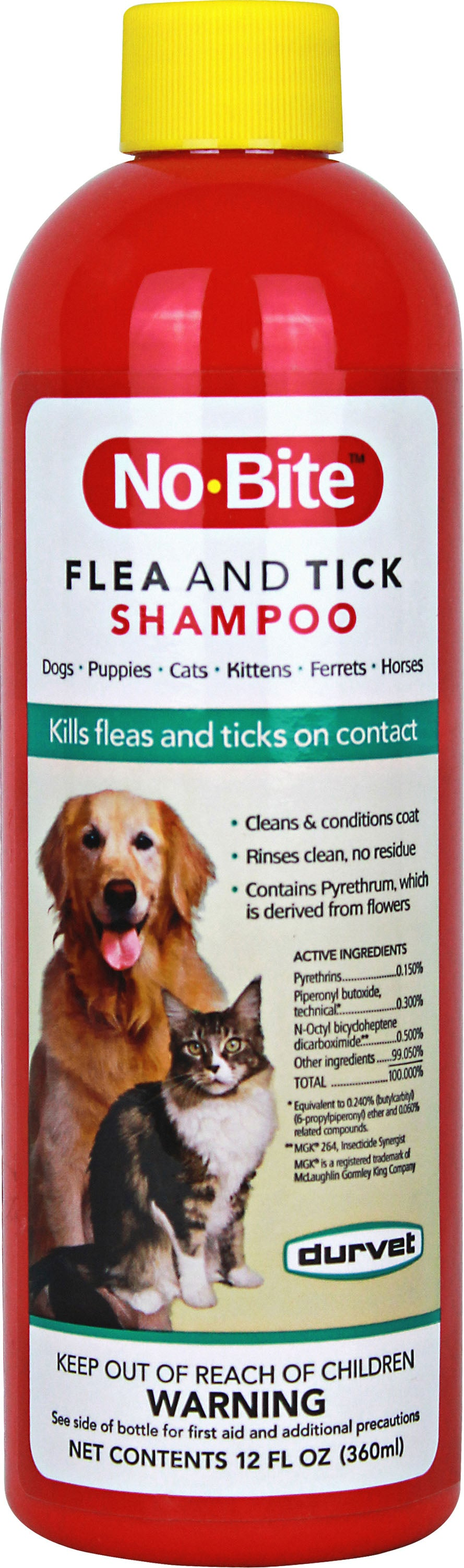 No-bite Cat & Dog Flea & Tick Shampoo