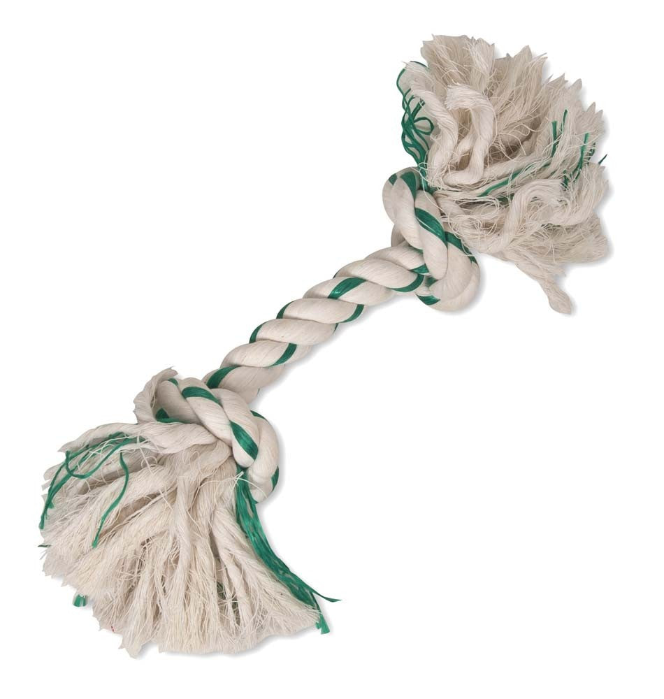 Booda Fresh N Floss 2-Knot Rope Bone Spearmint