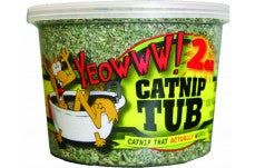 DuckyWorld Yeowww! Catnip Tub