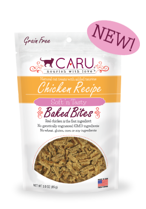 Caru Cat Natural Chicken Recipe Bites
