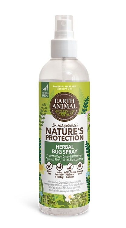 Earth Animal Dog Nupro Bug Spray Herbal