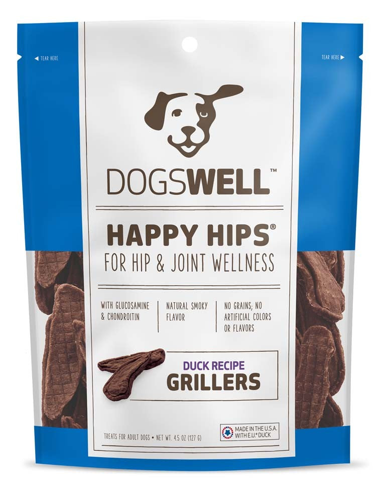 Dogswell HAPPY HIPS Grillers Duck Tenders