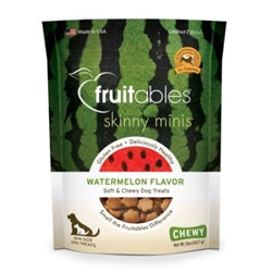 Fruitables Watermelon Skinny Minis Soft and Chewy Dog Treats