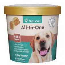 NaturVet All-In-One Vitamin/Mineral Soft Chews