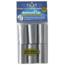 Bottoms Up 6 Refill Rolls For Dog Waste Bag Dispenser -  Sale