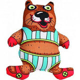 Petstages 5 Inch Madcap Bathing Beaver Squeaker Dog Toy