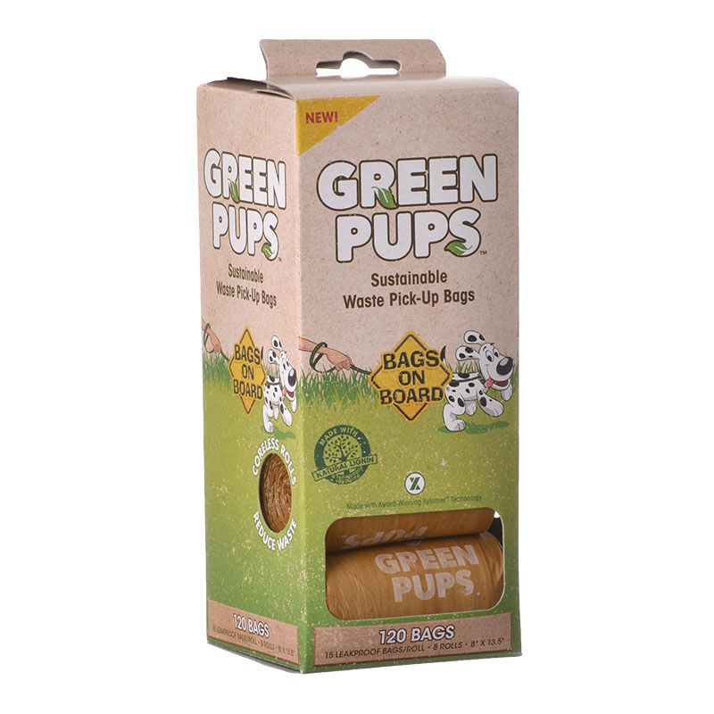 Bags on Board Green Pups Sustainable Waste Pick Up Bags