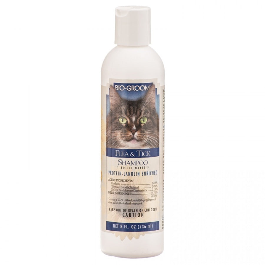 Bio Groom Cat Flea & Tick Shampoo