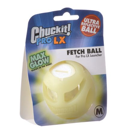 Chuckit Pro LX Max Glow Fetch Ball
