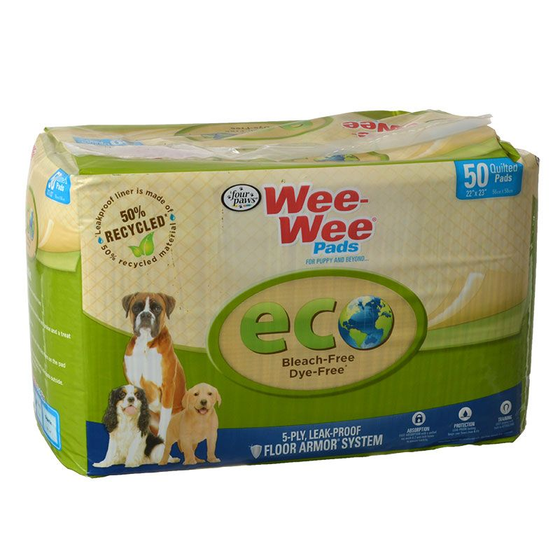 Four Paws Wee-Wee Pads - Eco
