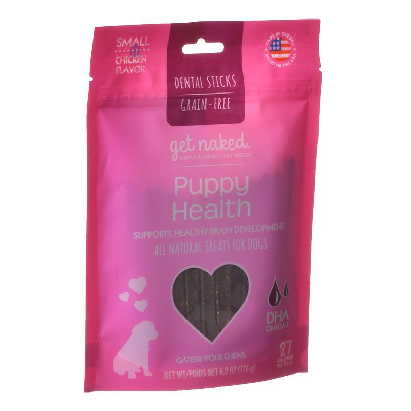 Get naked Puppy Health Dental Chew Treats
