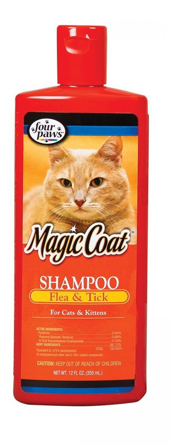 Flea & Tick Shampoo for Cats & Kittens
