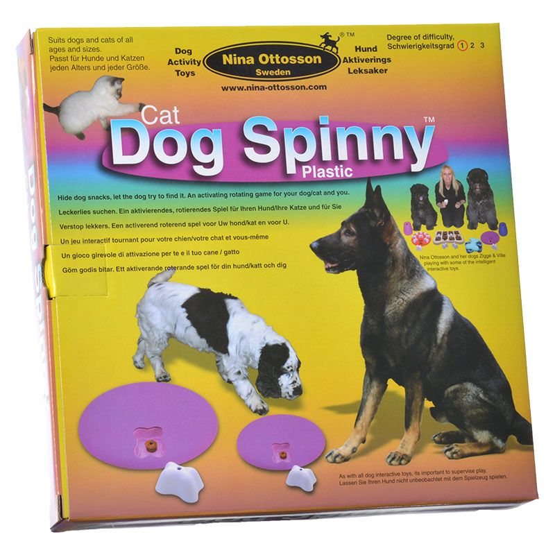 Nina Ottosson Dog Spinny Activity Toy