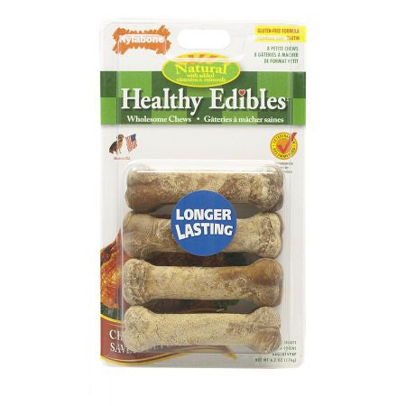 Nylabone Healthy Edibles Wholesome Dog Chews - Chicken Flavor