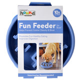 Outward Hound Fun Feeder Slo Bowl - Blue