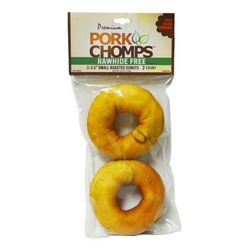 Pork Chomps Roasted Donut Dog Treats