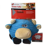 SmartPetLove Round Blue Cow Dog Toy