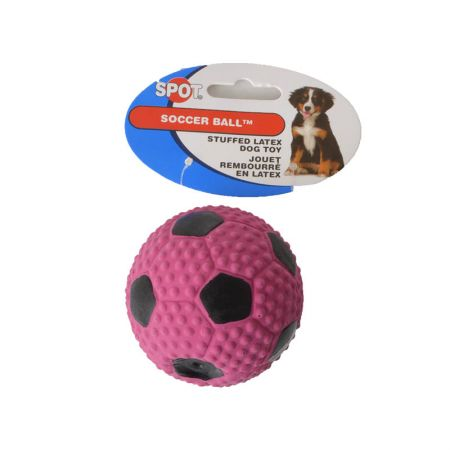 Spot Socer Ball Stuffed Latex Dog Toy