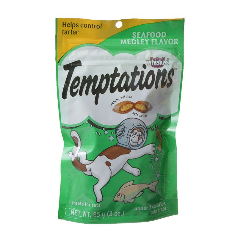 Whiskas Temptations - Seafood Medley Flavor